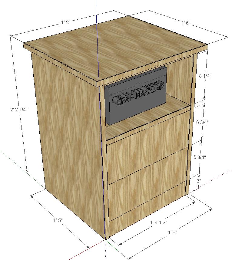 cpap machine furniture